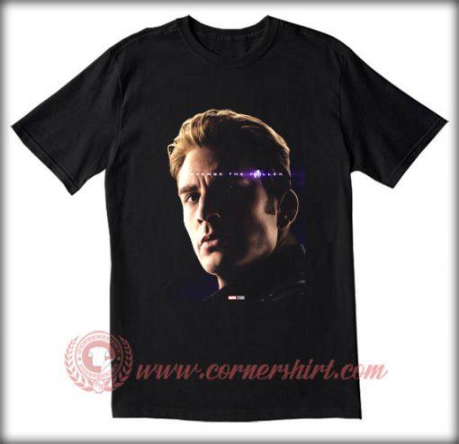 Avenge The Fallen Captain America T shirt