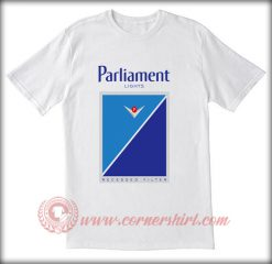 Parliament Light Cigarettes T shirt