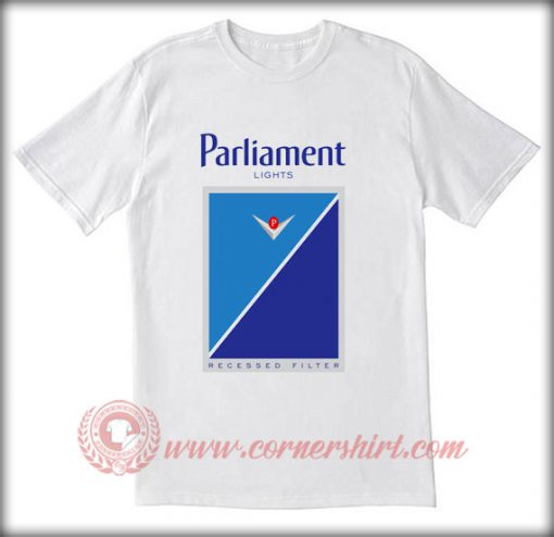 Parliament Light Cigarettes T shirt