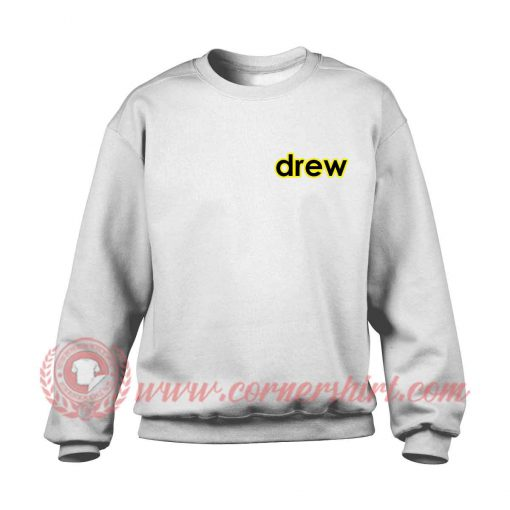 Drew Pocket Justin Bieber Sweatshirt