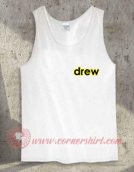 Drew Logo Pocket Tank Top