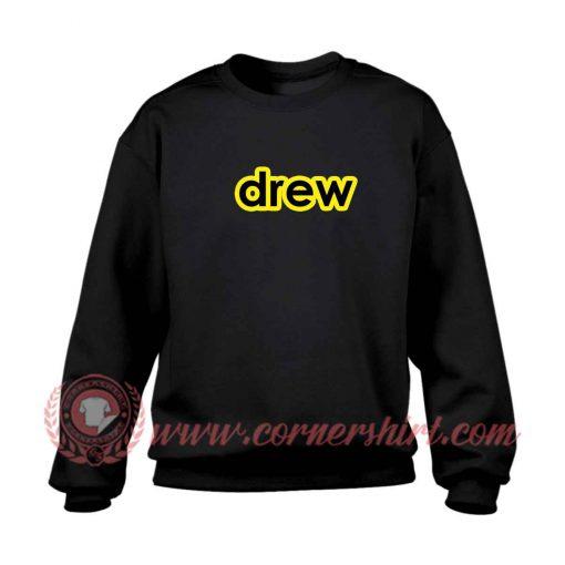 Drew Logo Justin Bieber Sweatshirt