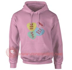 Xanarchy Heart Shaped Kisses Hoodie