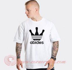 Abides Big Lebowski Adidas Parody T Shirt