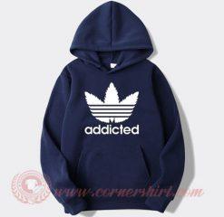 Addicted Adidas Parody Hoodie