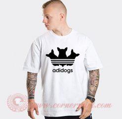 Adidogs Adidas Parody T Shirt