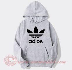 Adios Adidas Parody Hoodie