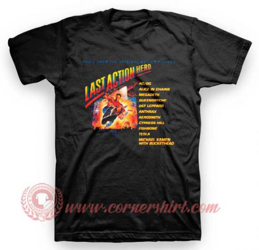 Aerosmith Last Action Hero T Shirt