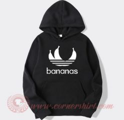 Bananas Adidas Parody Hoodie