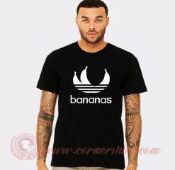 Bananas Adidas Parody T Shirt