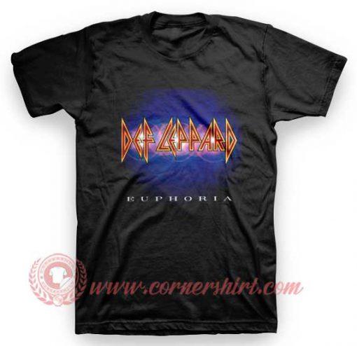 Def Leppard Euphoria T Shirt