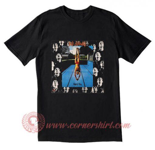 Def Leppard High n Dry T Shirt