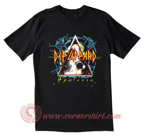 Def Leppard Hysteria T Shirt