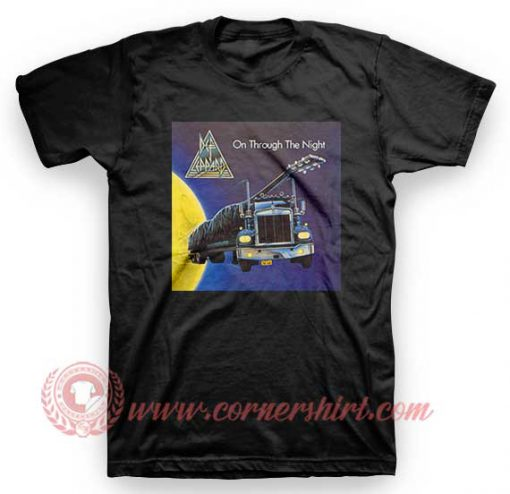 Def Leppard On Through the Night T Shirt