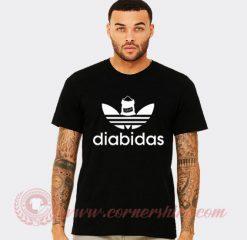 Diabidas Adidas Parody T Shirt