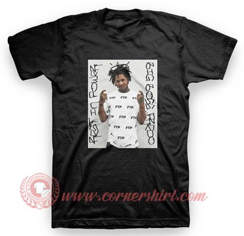 FTP Fredo Santana Photo T Shirt
