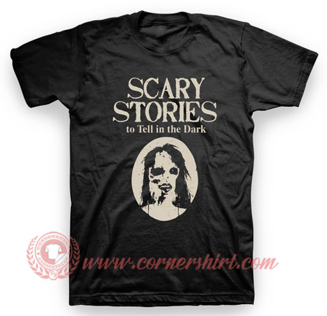 Guilermo Del Toro Scary Stories Movie T Shirt