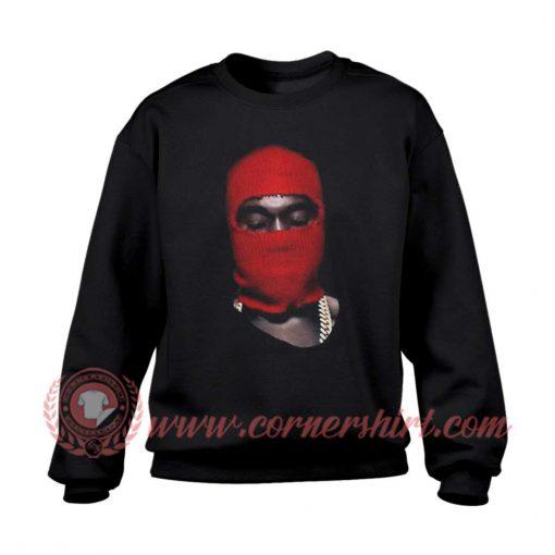 Kanye West Yeezus Red Ski Mask Sweatshirt