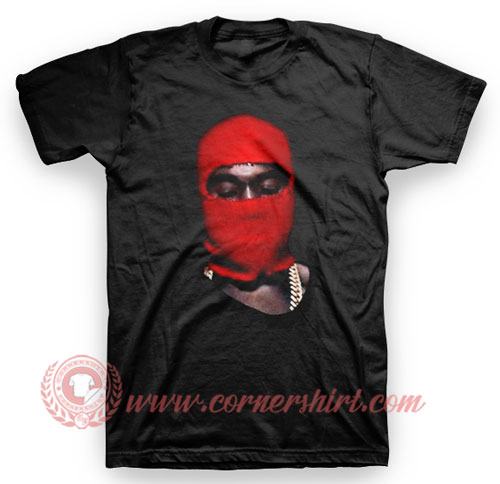 Kanye West Yeezus Red Ski Mask T Shirt