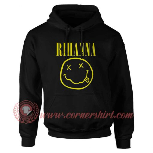 Rihanna Nirvana Design Hoodie