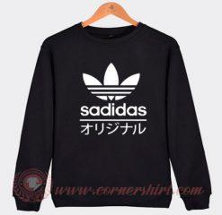 Sadidas Funny Adidas Parody Sweatshirt