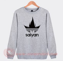 Saiyan Adidas Parody Sweatshirt