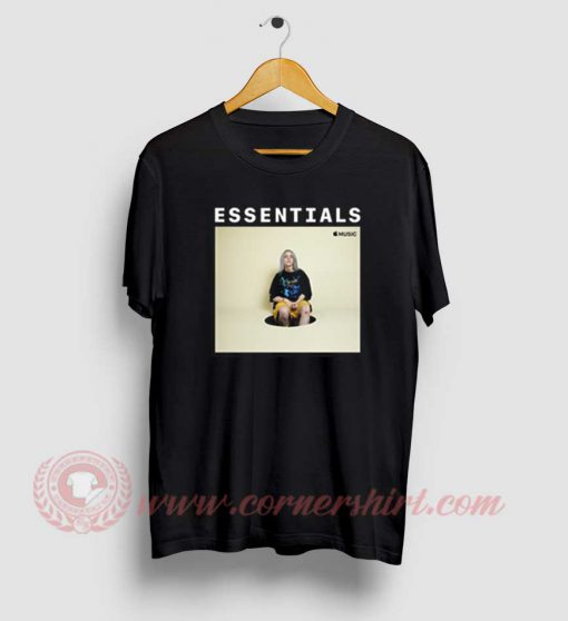 Billie Eilish Essentials On Apple Music T Shirt