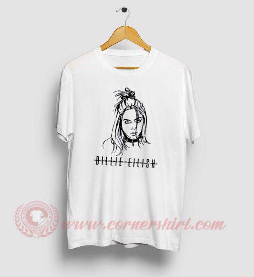 Billie Eilish Face T Shirt