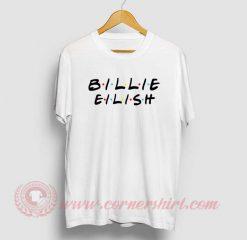 Billie Eilish Friends Tv Show T Shirt