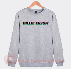 Billie Eilish Pop Art Sweatshirt