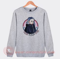 Billie Eilish YOE You Ocean Eyes Sweatshirt