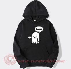 Boo Ghost Halloween Hoodie