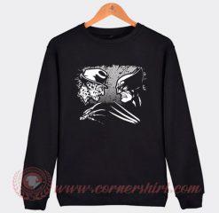 Freddy Krueger vs Wolverine Sweatshirt