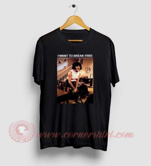 Freddie Mercury I Want To Break Free T shirt