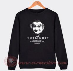 Grandpa Munster From The Munster Movie Sweatshirt