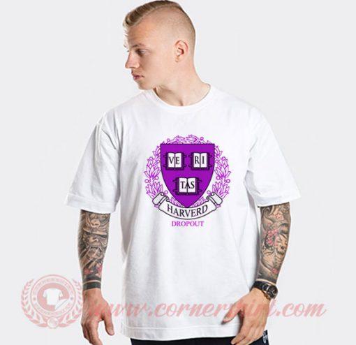 Harvard Dropout Logo T shirt