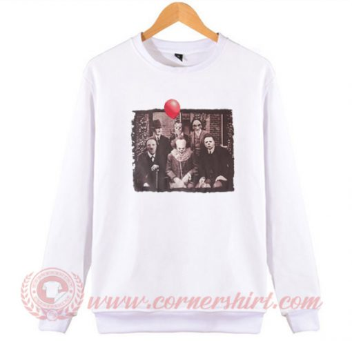 Horror Movie Mushup Sweatshirt