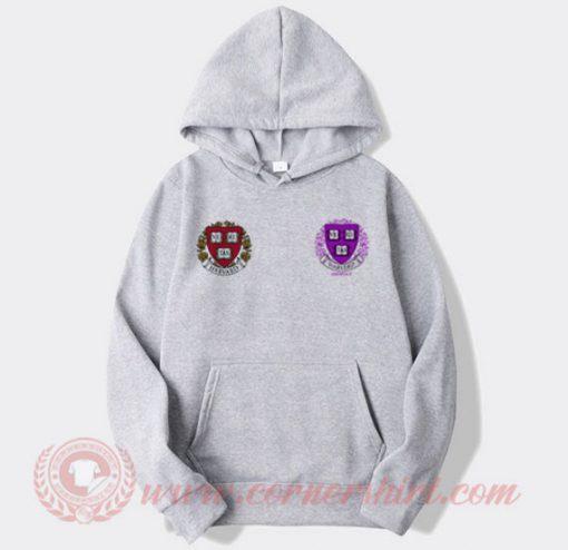Lil Pump Harvard Dropout Logo Hoodie