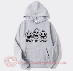 Pumpkin Trick Or Treat Hoodie
