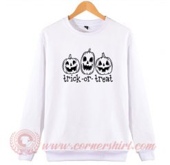 Pumpkin Trick Or Treat Sweatshirt