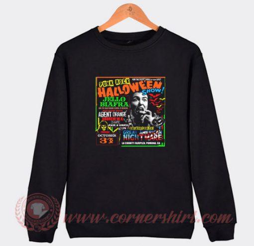 Punk Rock Halloween Show Sweatshirt