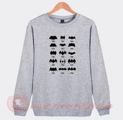 Story Of Batman Logo Sweatshirt