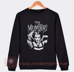 The Munster Lily Goth Punk Horror Sweatshirt
