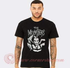The Munster Lily Goth Punk Horror T Shirt