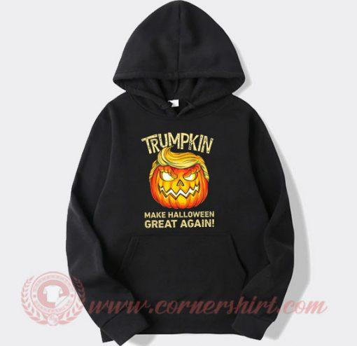 Trumpkin Make Halloween Great Again Hoodie