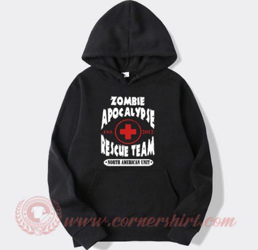 Zombie Apocalypse Rescue Team Hoodie