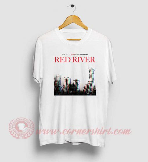 Tom Petty And The Heartbreakers Red River T Shirt
