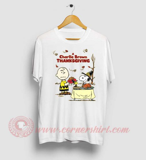A Charlie Brown Thanksgiving Snoopy T Shirt
