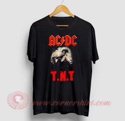 ACDC TNT Custom Design T Shirt