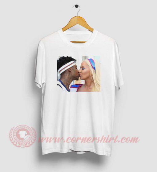 Amber Rose Kiss 21 Savage T Shirt